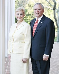 First Lady Sandra Deal and Governor Nathan Deal